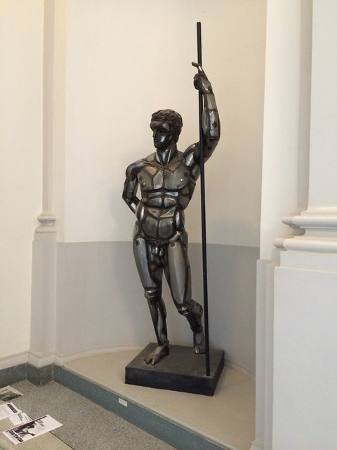 Photo:Naked Metal Man statue By ikrichter