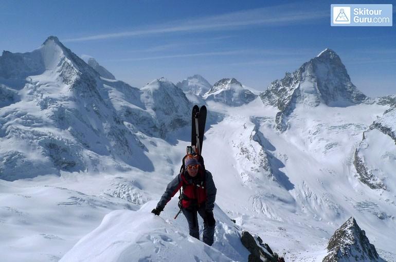 Obtížnost lyžařských túr