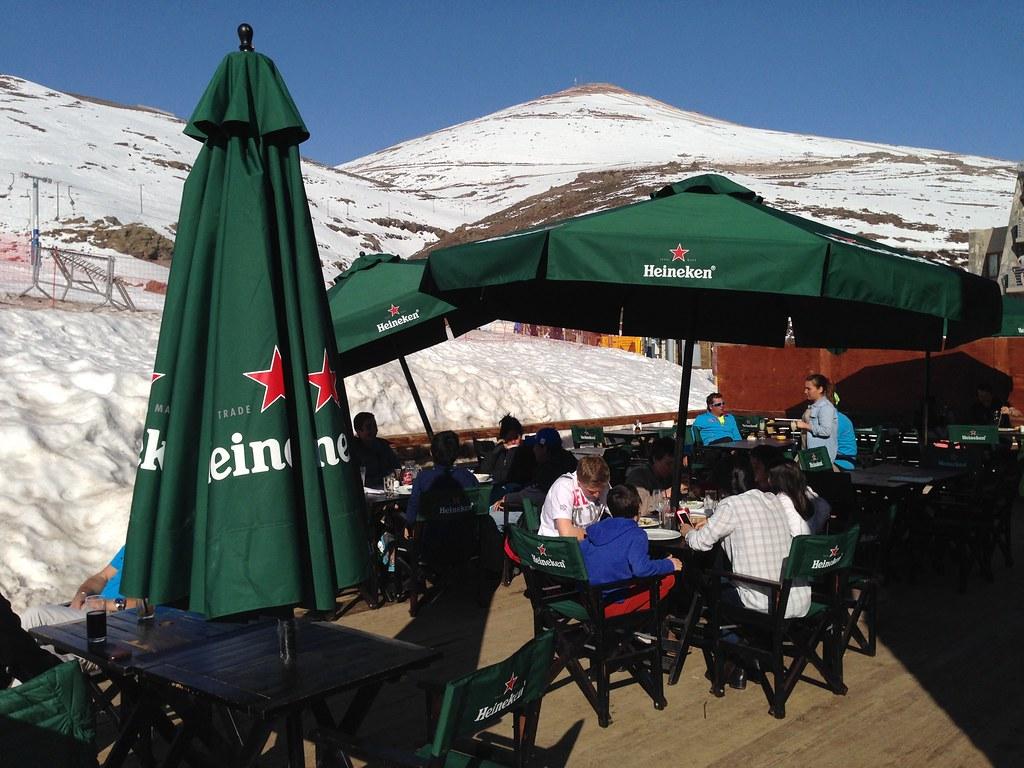 Aprés-ski at Parva Chica