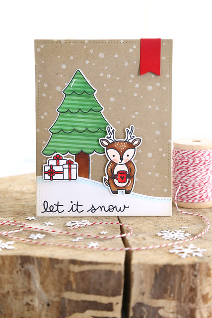 let it snow (lawn fawn inspiration week)