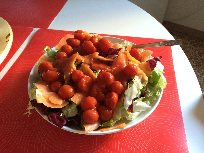 Self assembled salad.