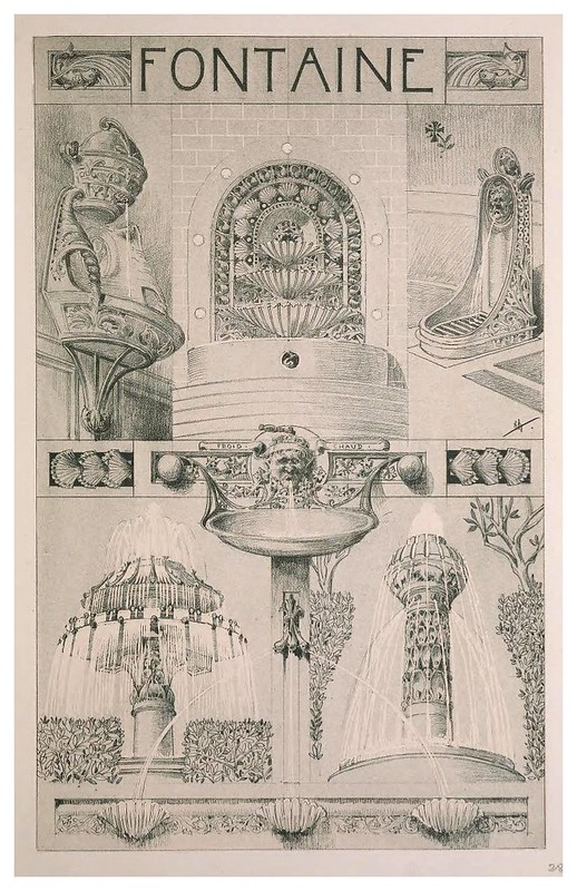 006-Fuentes-Esquisses Décoratives- 1905- Rene Binet
