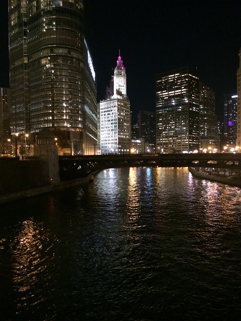 Lovely evening in Chitown.