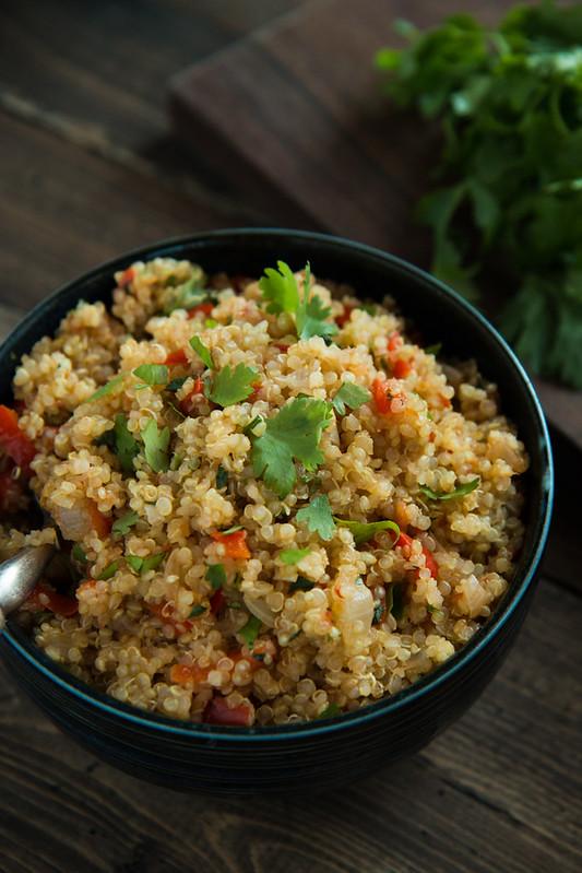 Tomato Quinoa (Nasi Tomato) | Will Cook For Friends