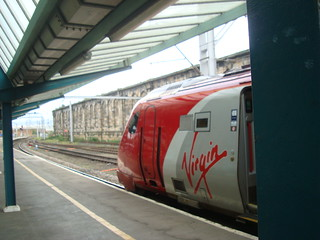 Super Voyager train at Carlisle