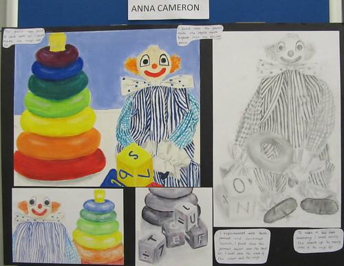 Senior Art Exhibtion Opening