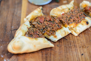Turkish Minced Lamb Pide