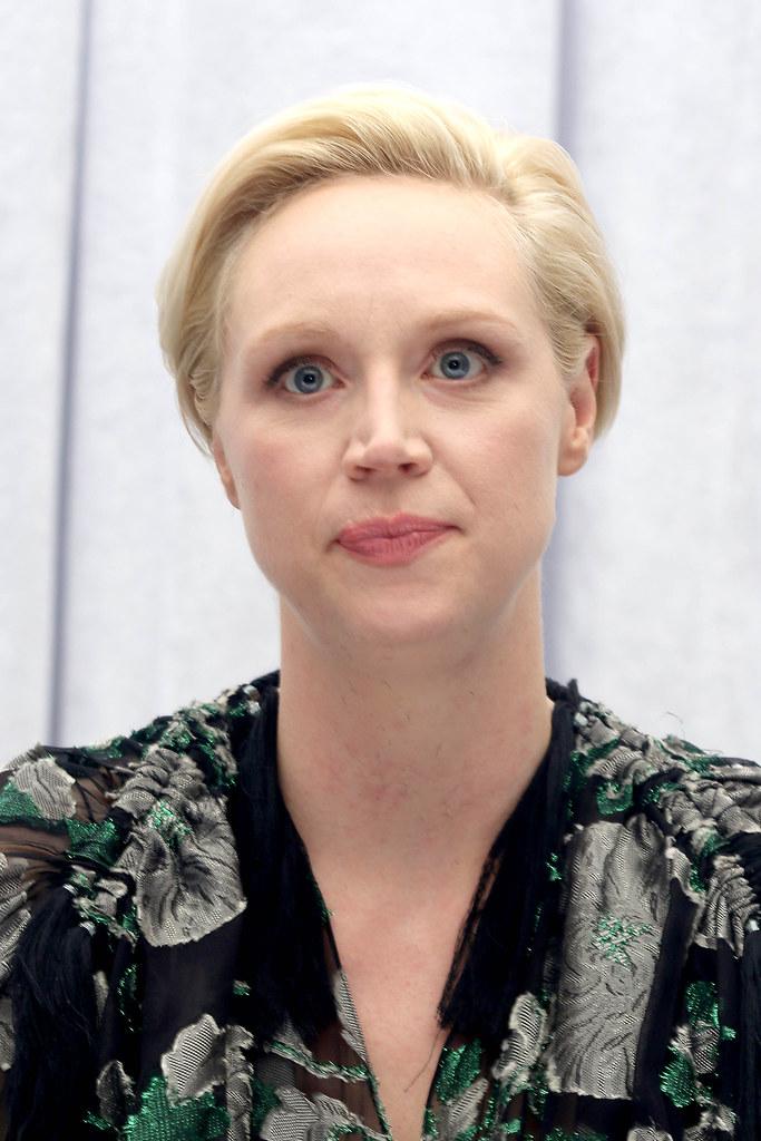 Гвендолин Кристи — Пресс-конференция «Звёздные войны» 2015 – 9