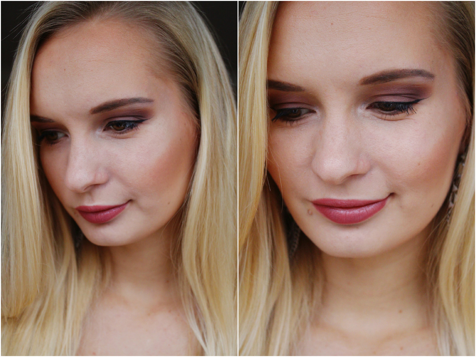 warm tone fall makeup