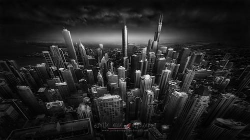 Urban Saga III - Chicago Skyline