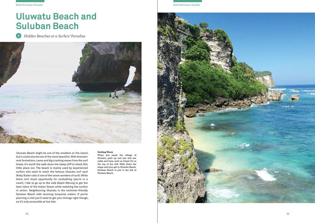 Uluwatu Beach - Lost Guides Bali book