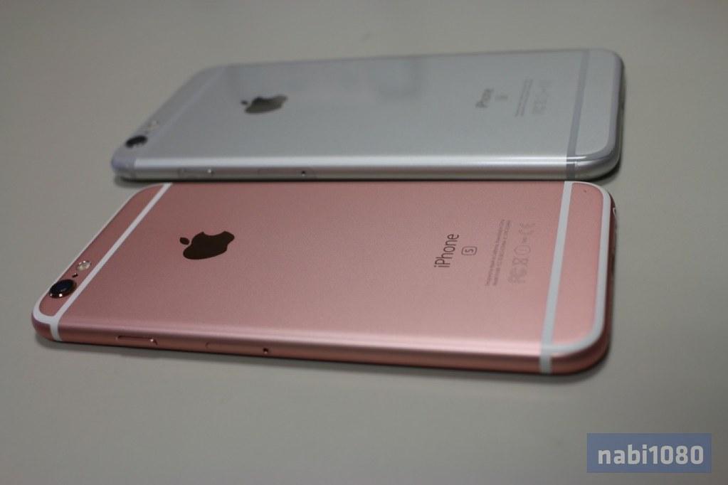 iPhone 6sローズゴールド12