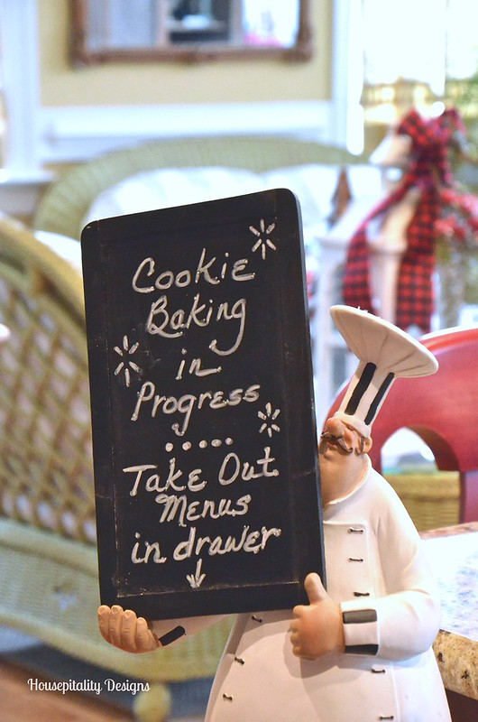 Kitchen Chalkboard Chef - Housepitality Designs