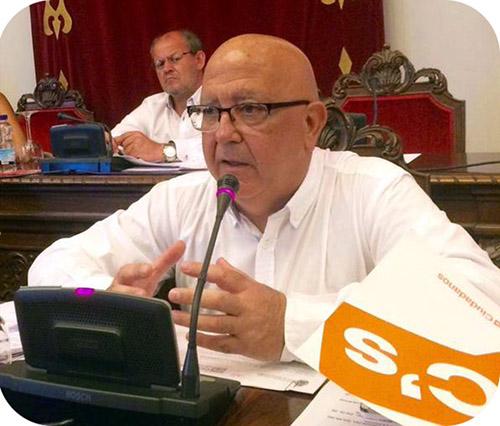 """Manuel Padín: """"Es una vergüenza que el PSOE  haya perdido el dinero de los parados de Cartagena por pura incompetencia"""""""