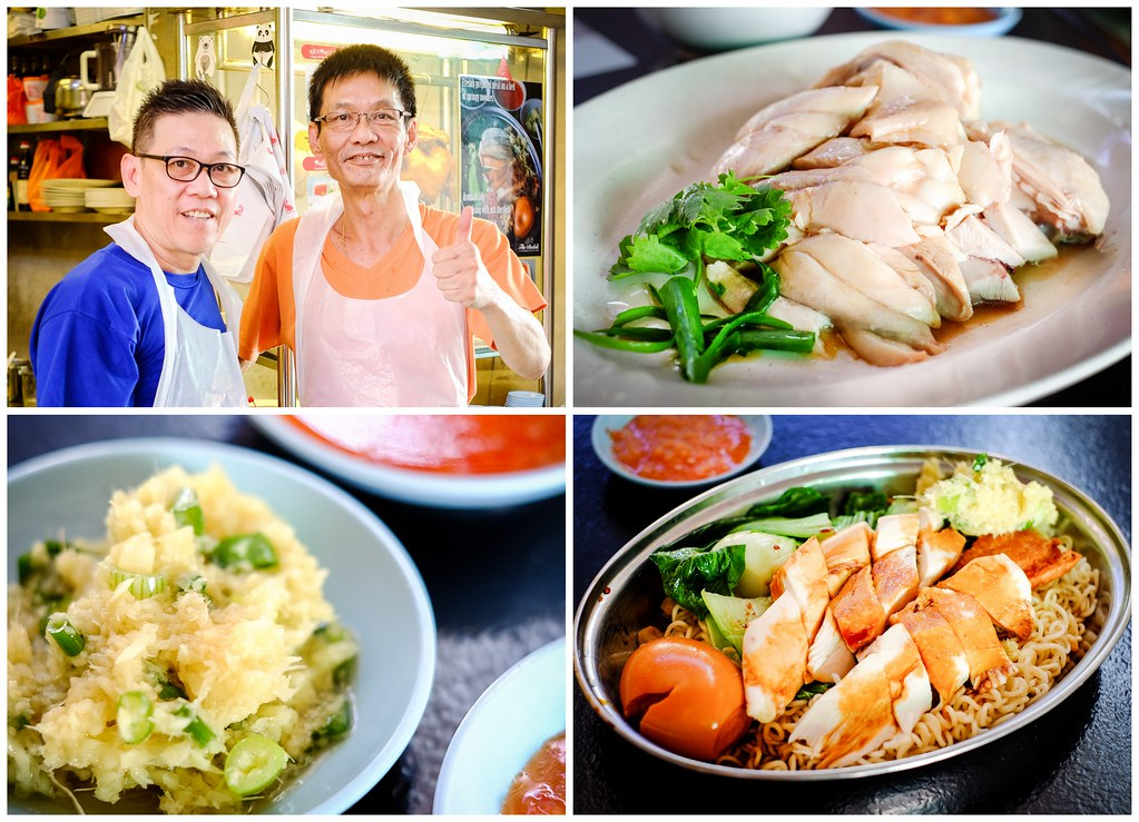 Cheap Places to Eat in Singapore: Uncle Chicken Rice