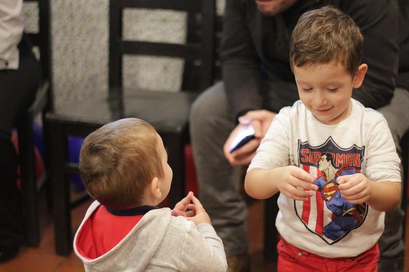 Festa a tema superman - fratelli