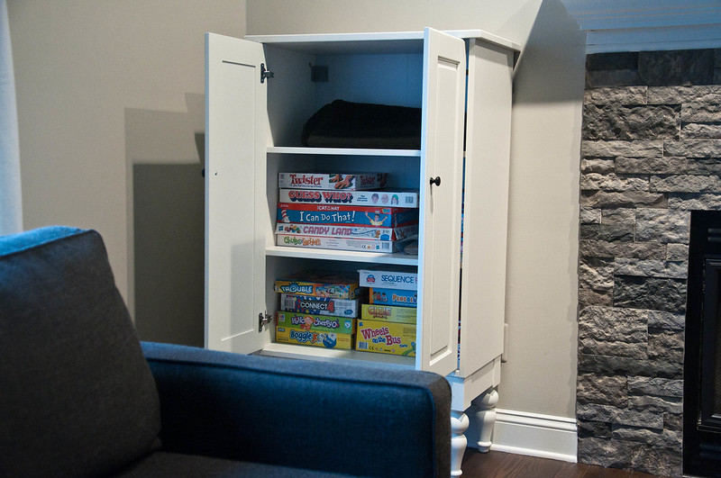 IKEA Game Cabinet