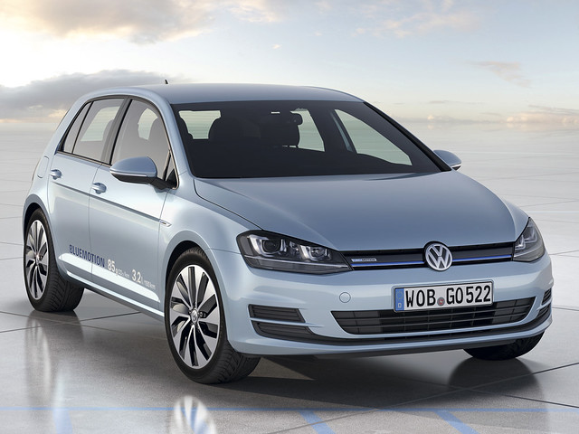 Volkswagen Golf BlueMotion Concept (Typ 5G). 2012 год