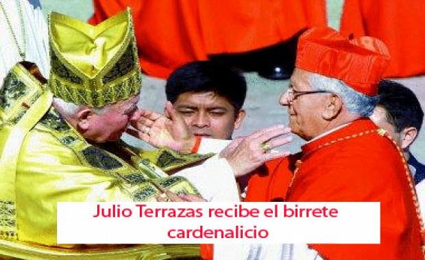 MUERE EL CARDENAL JULIO TERRAZAS A SUS 79 AÑOS
