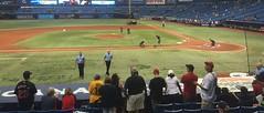 Baseball trip with Dad (Atlanta/Tampa Bay)