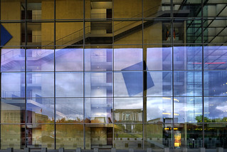 Image of Paul-Löbe-Haus. sonya7mii hdr dynamicphotohdr reflection reflections berlin architecture glass