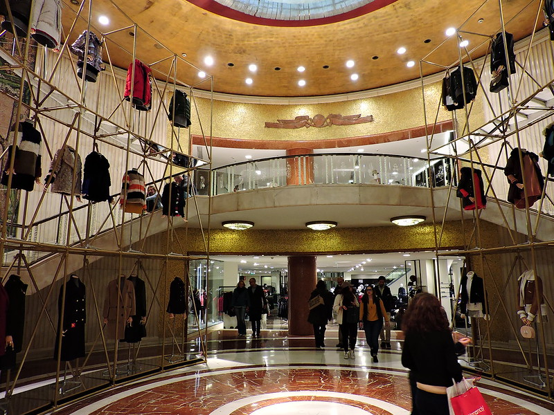 Milano, Zara store