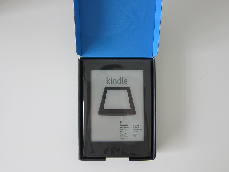 Kindle Paperwhite E-reader (2016) - Box Open