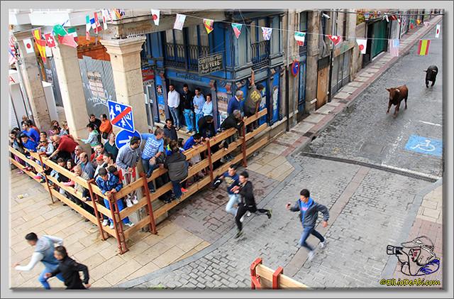 Briviesca en Fiestas 2.015 Segundo encierro Sopas de ajo y encierro infantil (3)