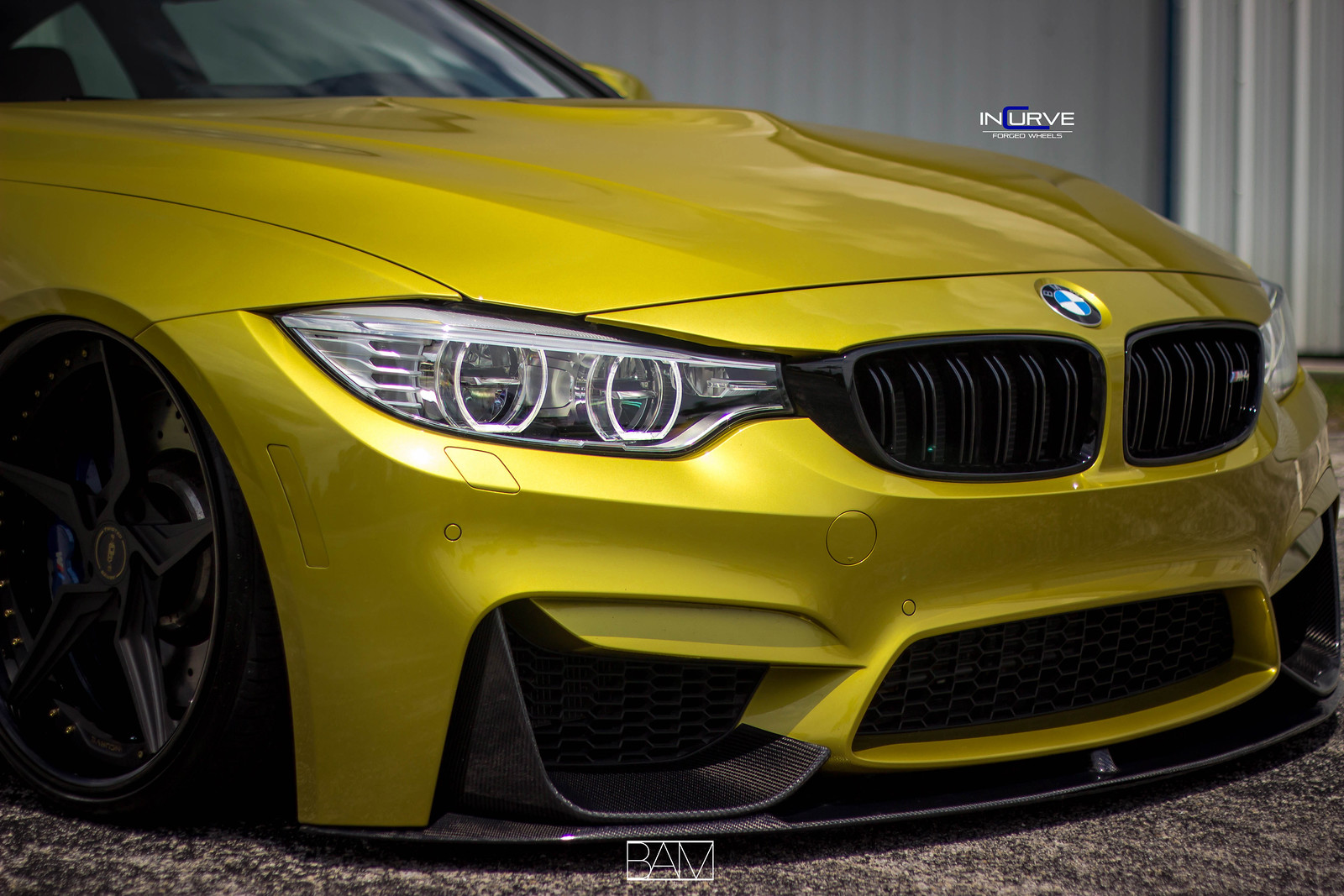 Fs Modded Amp Bagged Bmw M4 Airlift Incurve Wheels