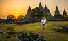 Prambanan Sunset by reinomac