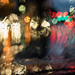 rainy drive home abstract (safely taken, no worries) by wolfkann