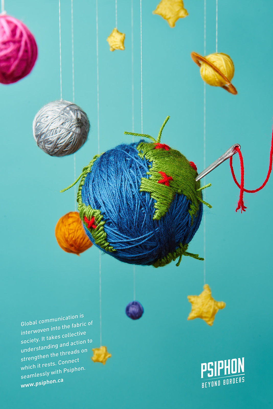 psiphon, yarn posters