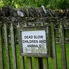 No Sudden Moves, Kids! #sign #cotswolds... by thephilosopherstoned