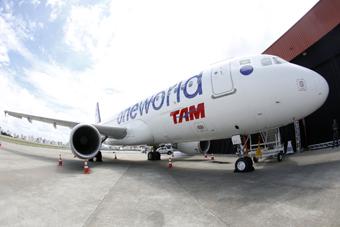 TAM A320 Oneworld (TAM)