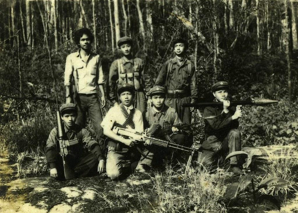 泰共在城市組織動員工人不順利,1960年代後轉向農村發展武裝抗爭,但仍失敗。(照片來源:Maosoleum)