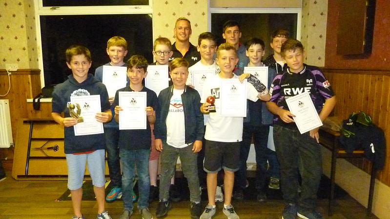 Under 12s Team 2015