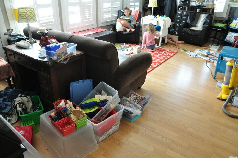 Living Room Mess @ Mt. Hope Chronicles