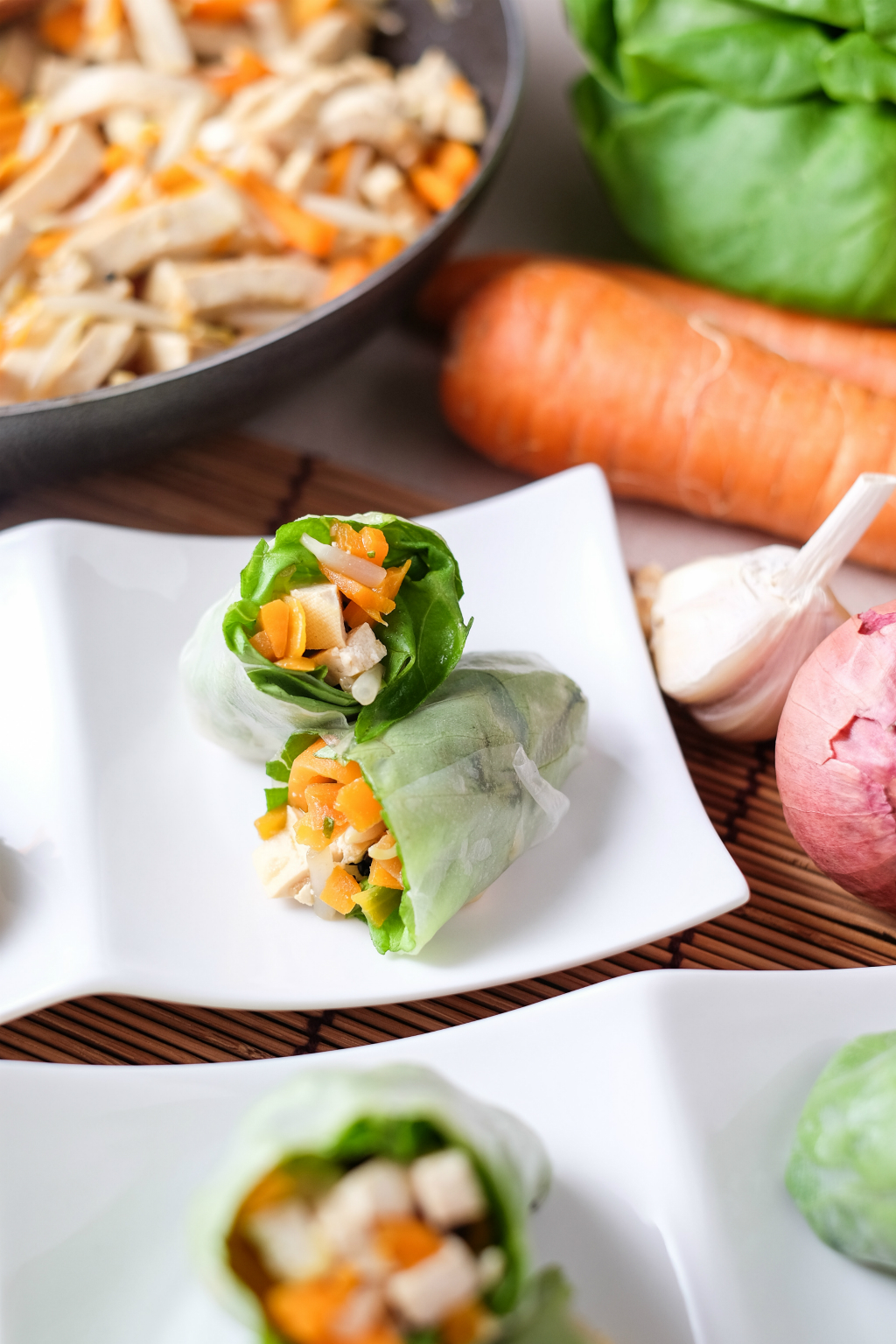 Healthy Lifestyle Festival SG: Vegetable Roll