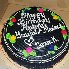 Belated Happy Birthday to me... Thanks Team K... #ItsMyBirthday #Goodeve
