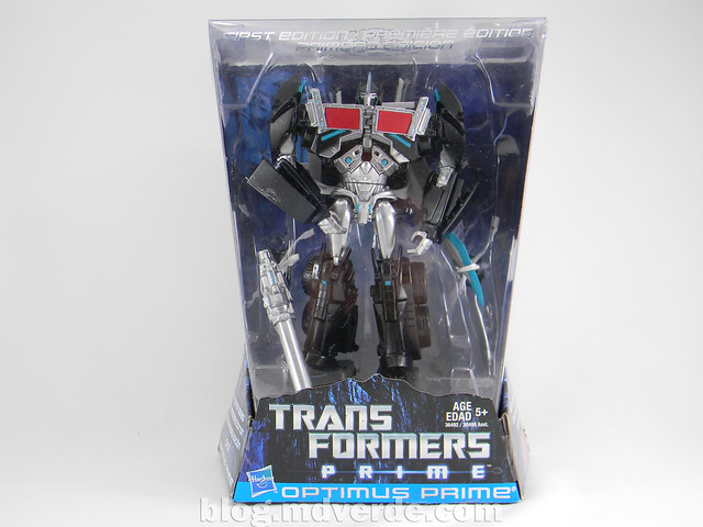 Transformers Nemesis Prime Voyager - Transformers Prime First Edition Custom - caja