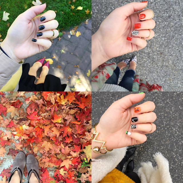 From Where I Stand | Fall Manicures & Shoes
