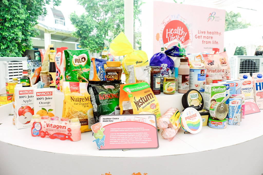 Healthy Food Sponsors at the Healthy Lifestyle Festival SG