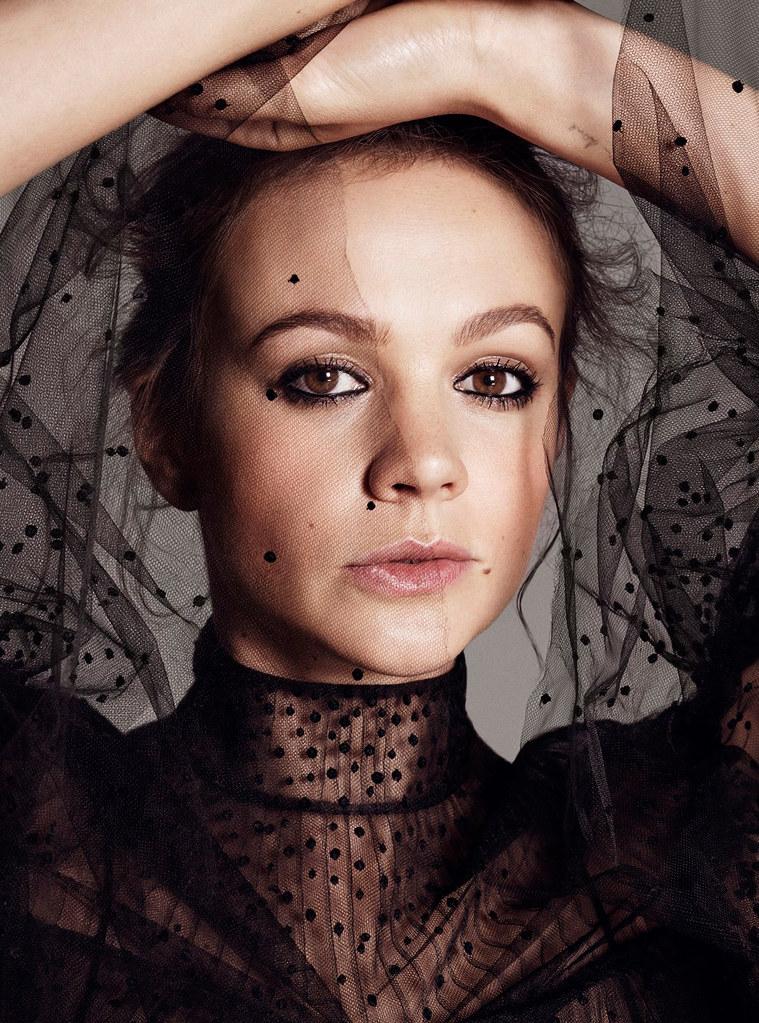 Кэри Маллиган — Фотосессия для «Elle» 2015 – 5