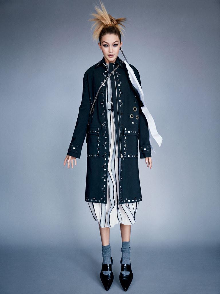 Джиджи Хадид — Фотосессия для «Vogue» 2015 – 4