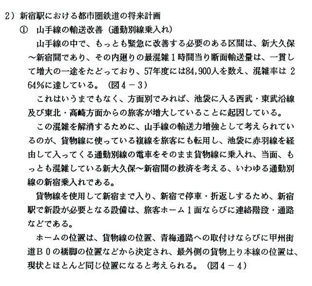 上越新幹線新宿駅構想 (13)