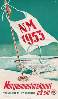 Norgesmesterskapet på ski (1953)
