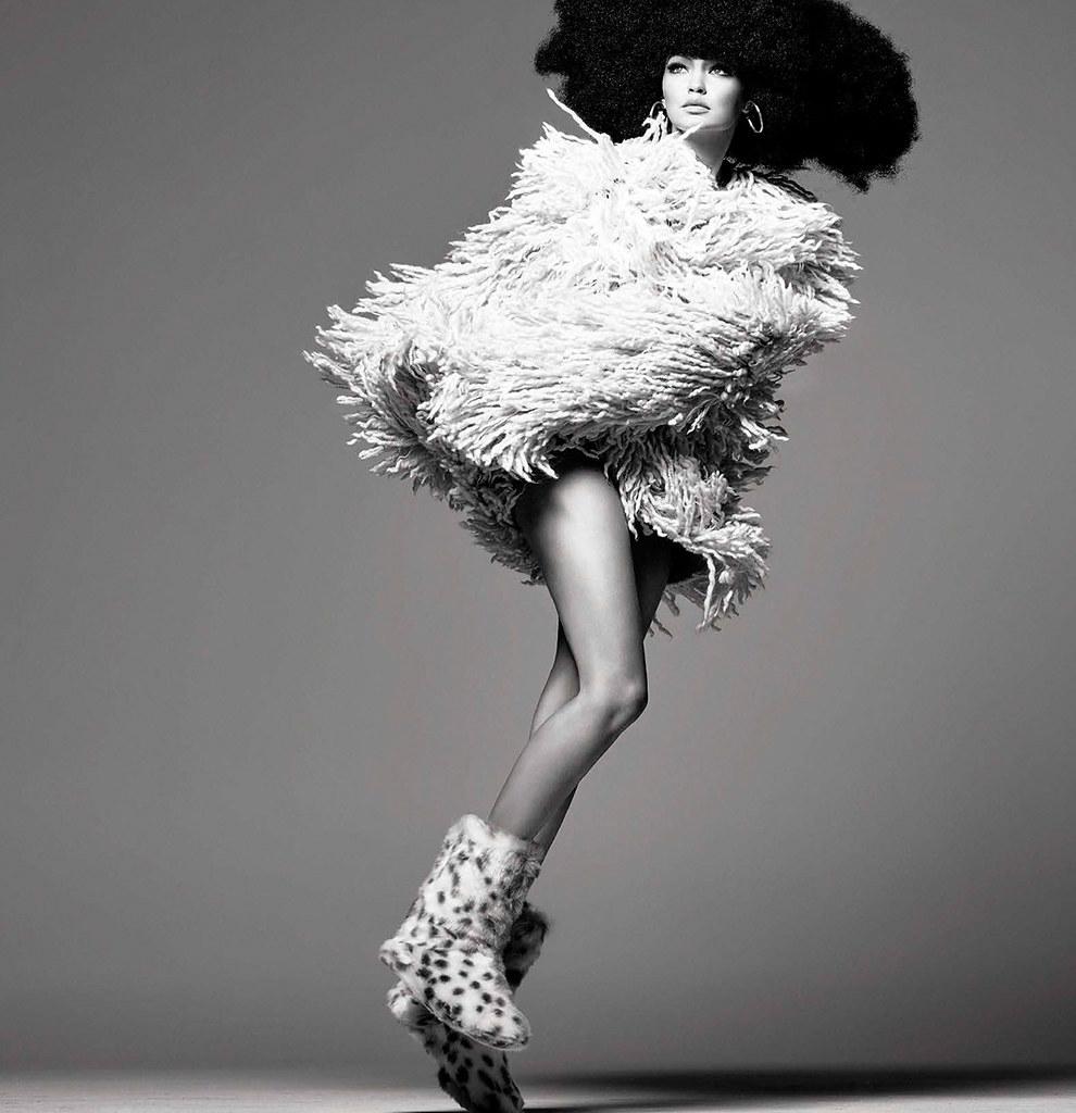 Джиджи Хадид — Фотосессия для «Vogue» IT 2015 – 3