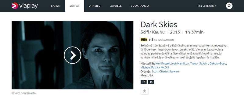 Katso Dark Skies. Elokuvat netissä - Viaplay.fi - Google Chrome 30.11.2015 95802.bmp