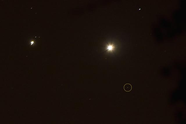 Venus, Jupiter