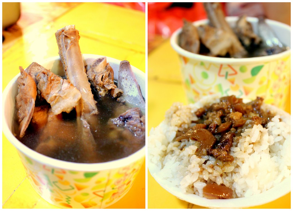 Taipei Night Market Trail: roahe night market herbal stew pork rice